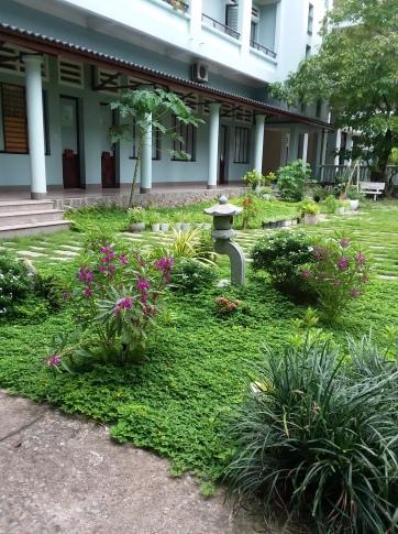Mini floral garden